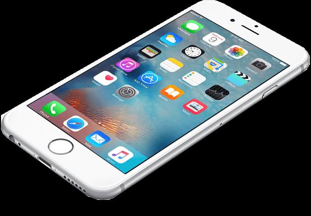 iPhone voorbeeld foto