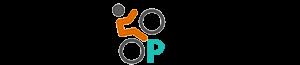 Logo Stapel op fietsen
