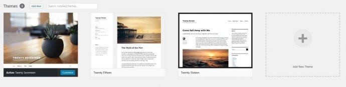Wordpress Thema Kiezen